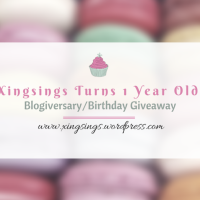 Xingsings is a Year Old + Blogiversary/Birthday Giveaway