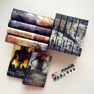 The Mortal Instruments bookmarks