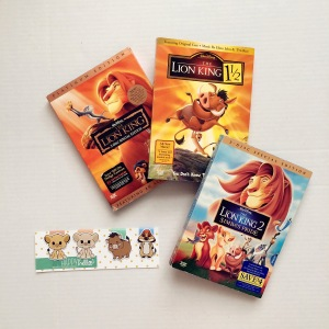 Lion King bookmarks