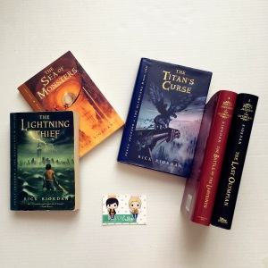 Percy Jackson and the Olympians bookmarks