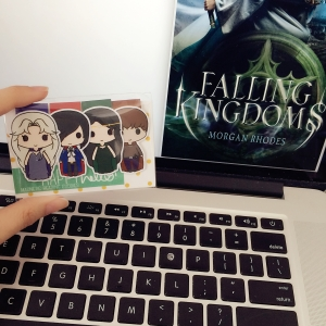 Falling Kingdoms bookmarks