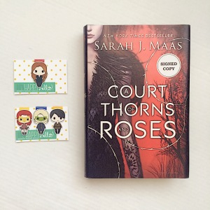 A Court of Thorns and Roses bookmarks