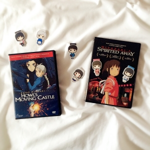 Howl's Moving Castle, Princess Mononoke, Spirited Away bookmarks