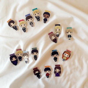 The Hunger Games bookmarks |