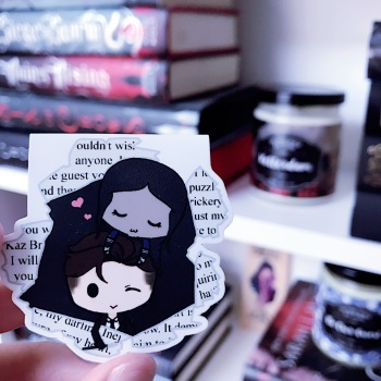 Six of Crows duology bookmark